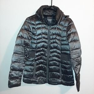 Gray A.N.A Puffer Packable Down Jacket Sz Sm